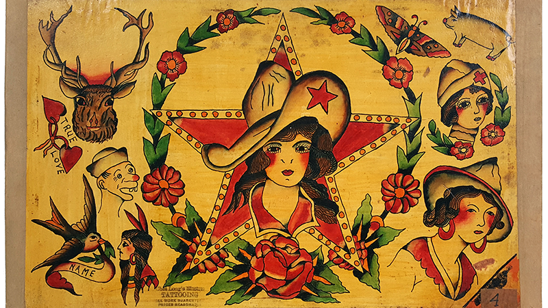 Vintage Tattoo Flash is Highly Collectible Art | EJ'S ...