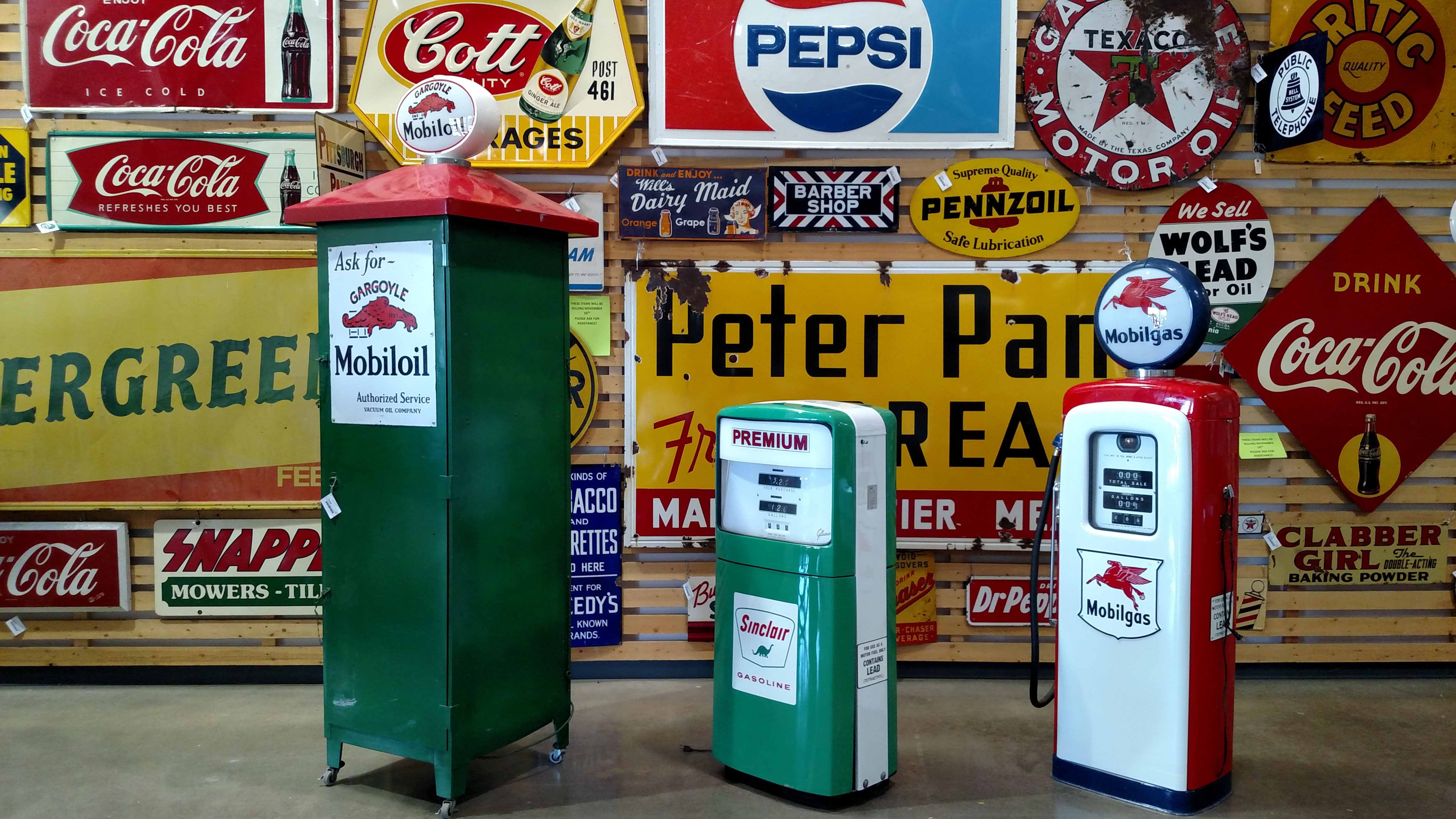 Selling Signs of Past Times | EJ'S Auction & Appraisal