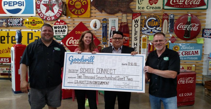 School Connect was a recipient of more than $2,700